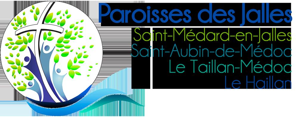 Paroisses des Jalles - Saint-Médard, Saint-Aubin, Le Taillan et Le Haillan.